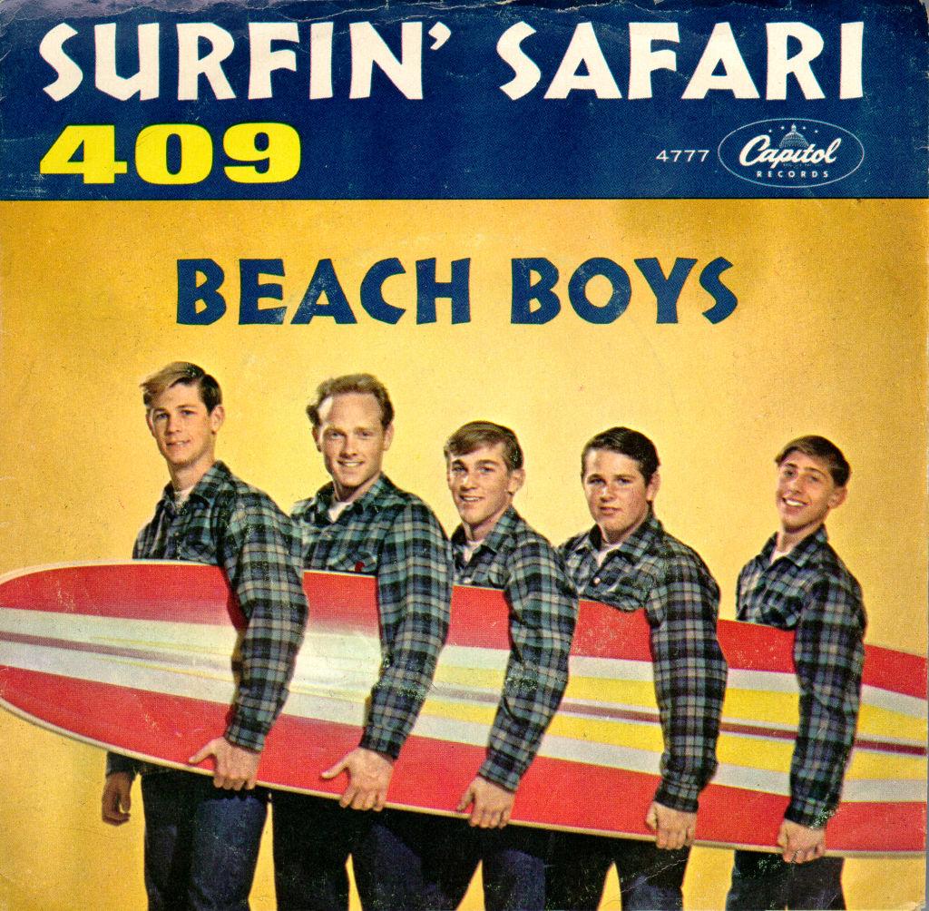 The cover of the Beach Boys' Surfin' Safari