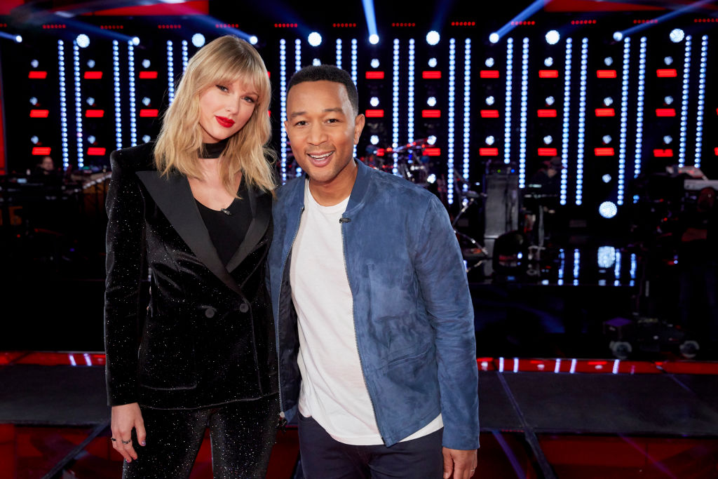 Taylor Swift and John Legend on 'The Voice'