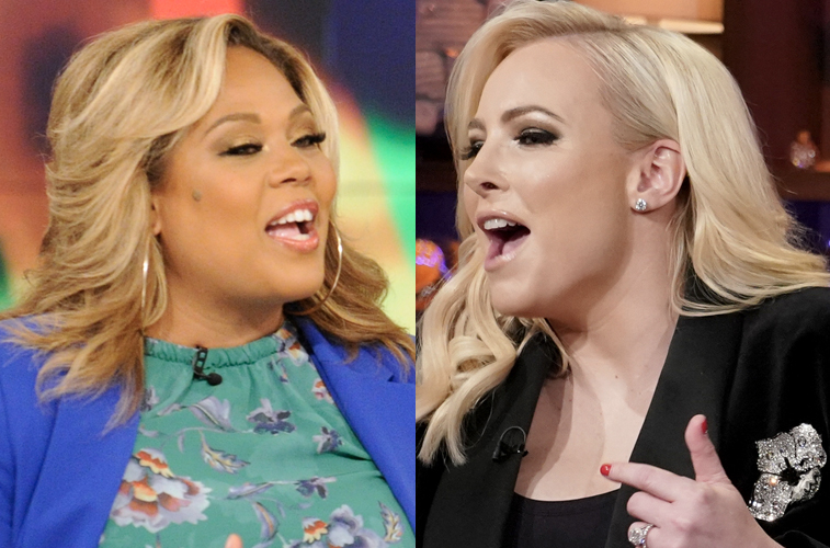 Tara Setmayer and Meghan McCain