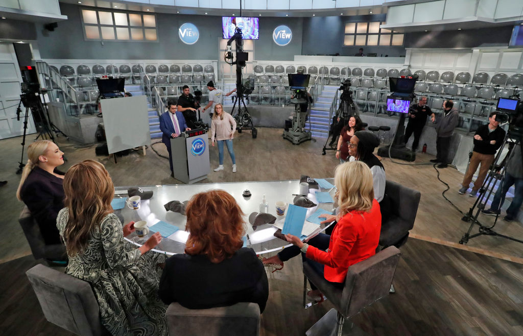'The View' without an audience