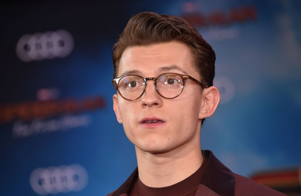 Tom Holland arrives for the 'Spider-Man: Far From Home' World premiere on June 26, 2019.