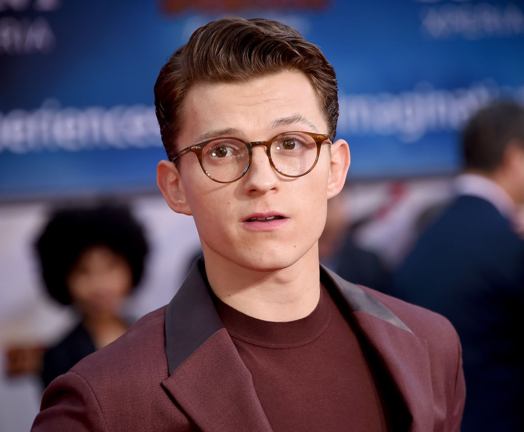 Tom Holland attends the premiere of 'Spider-Man Far From Home' on June 26, 2019.