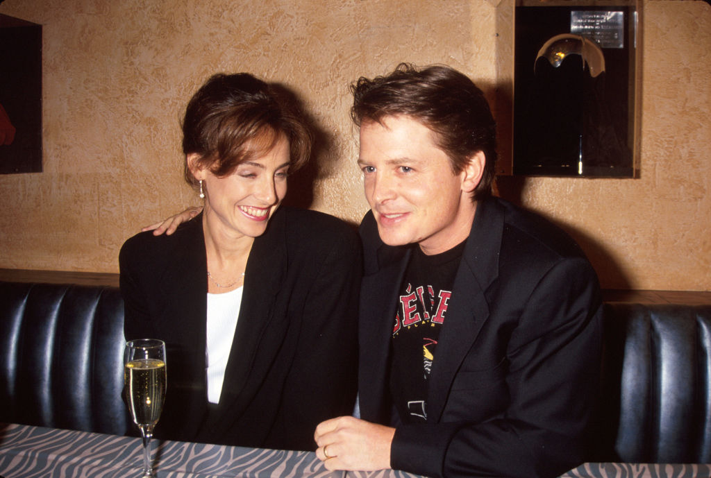 Tracy Pollan and Michael J. Fox.
