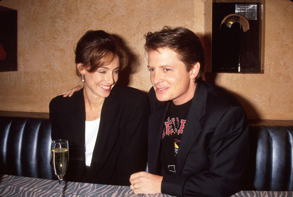 Tracy Pollan and Michael J. Fox.