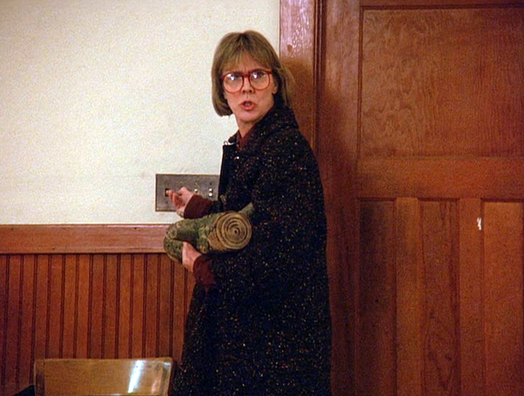 Catherine E. Coulson as The Log Lady