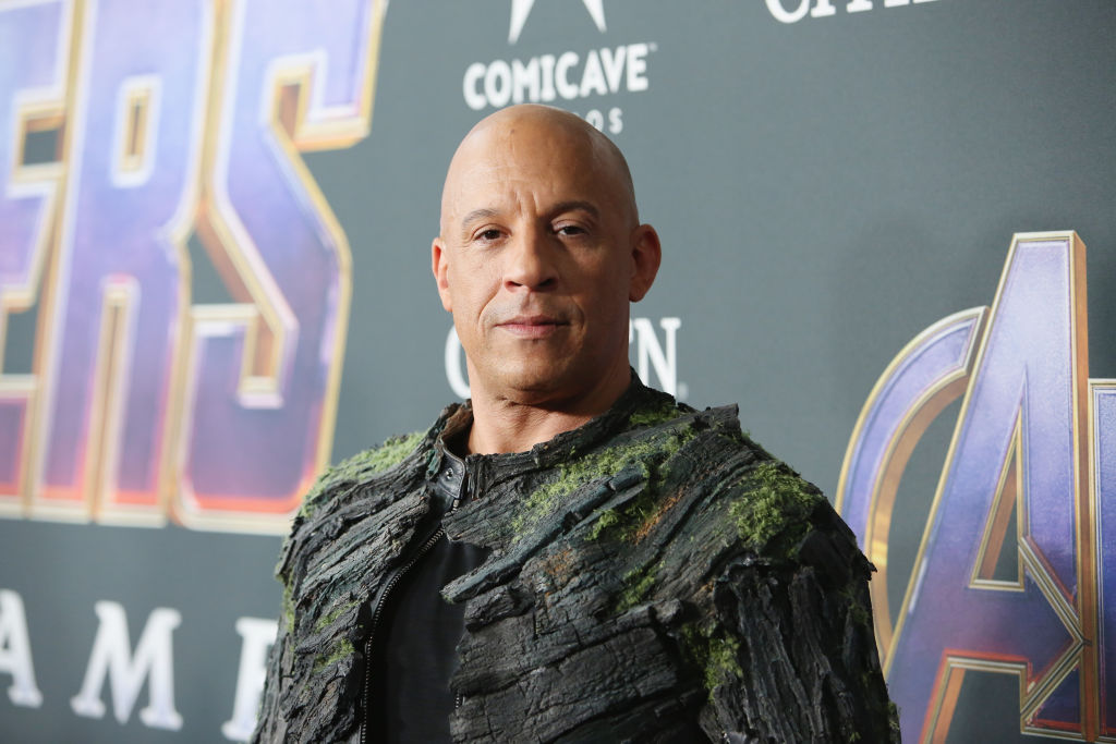 Vin Diesel attends the Los Angeles World Premiere of Marvel Studios' 'Avengers: Endgame' on April 23, 2019