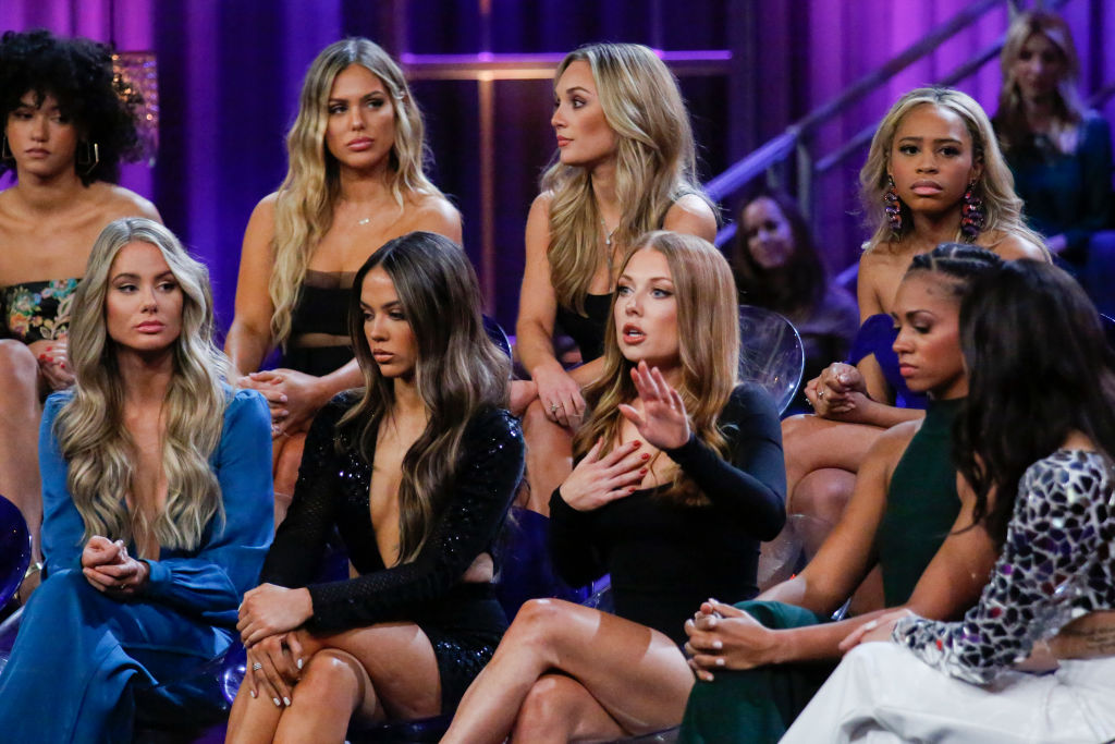 Peter Weber's contestants had a lot to talk about on 'The Bachelor: The Women Tell All' episode.