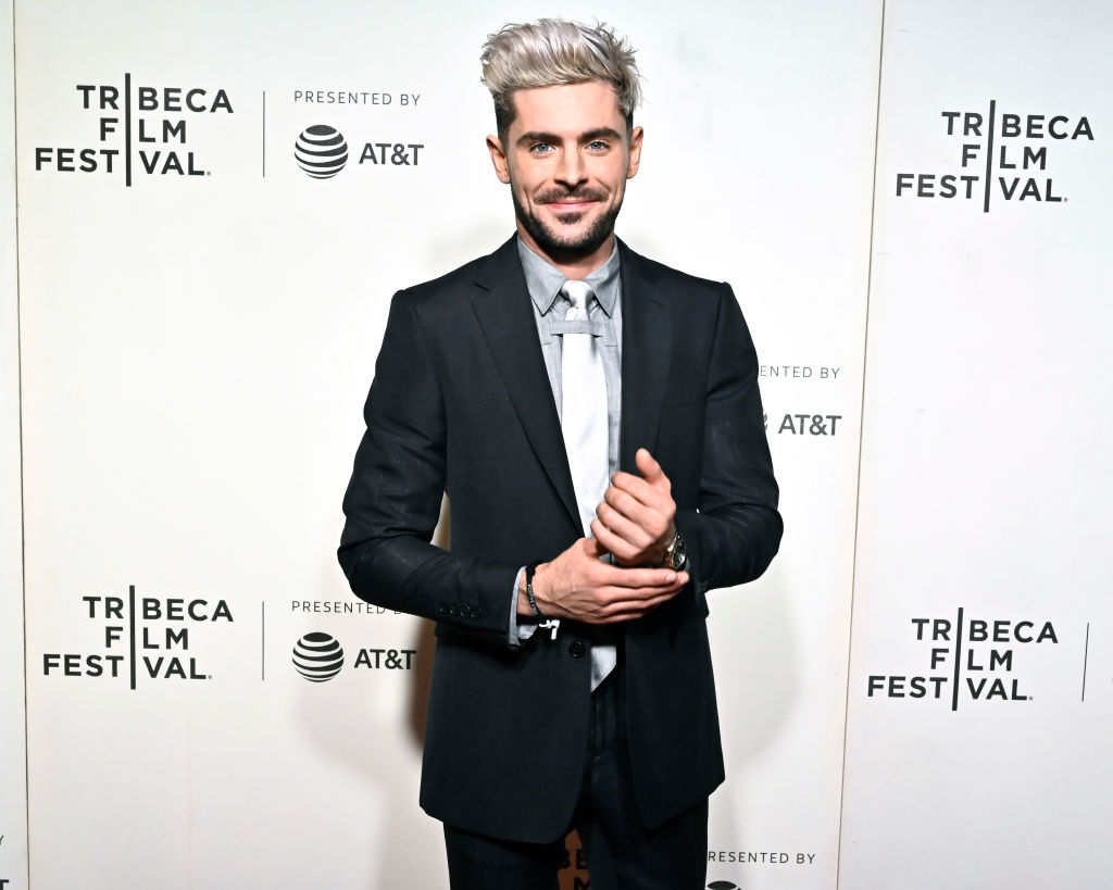 Zac Efron at Netflix's 'Extremely Wicked, Shockingly Evil and Vile' Tribeca Film Festival Premiere on May 02, 2019.