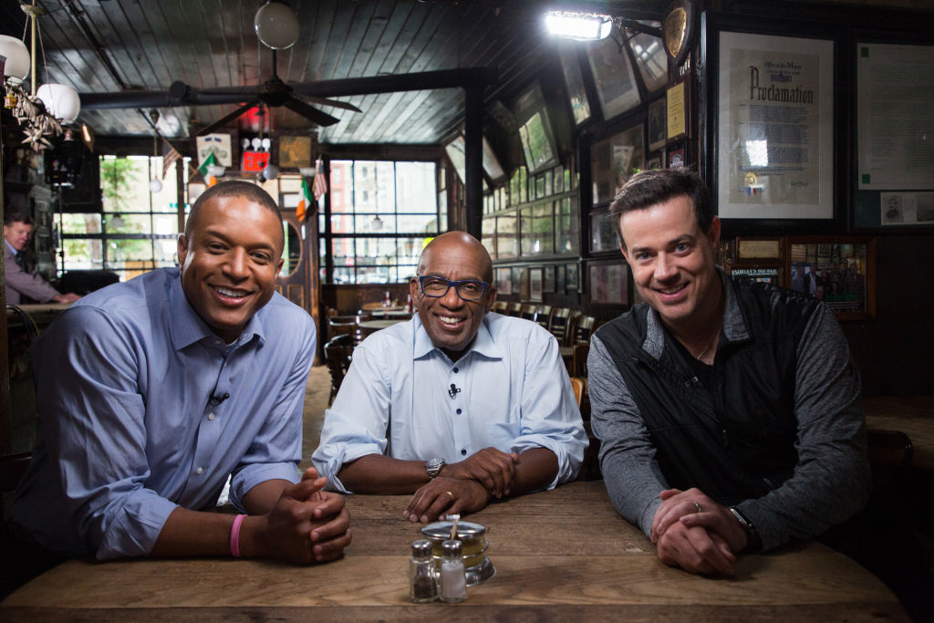 """Today Show's"" Craig Melvin, Al Roker and Carson Daly"