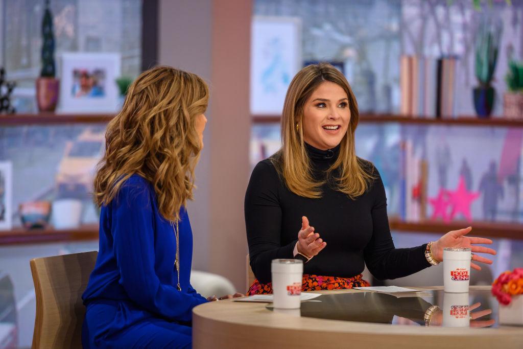 """""""Today Show's"""" Maria Shriver and Jenna Bush Hager"""