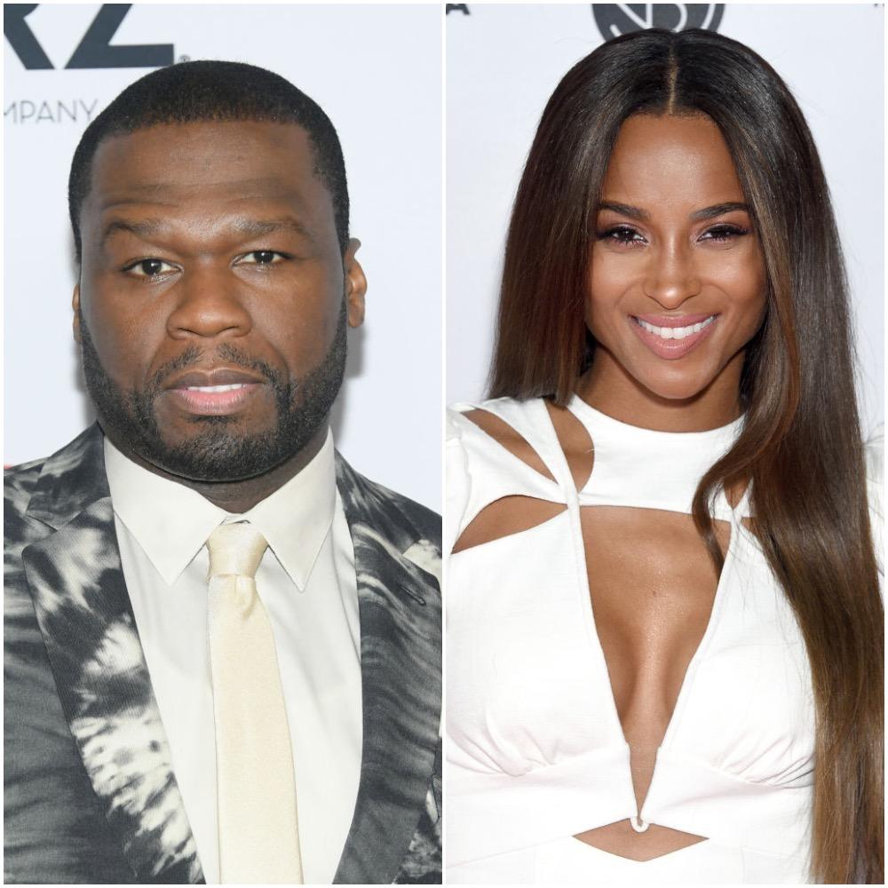 50 Cent and Ciara