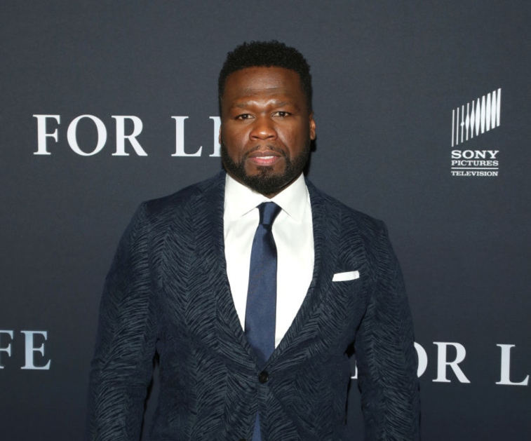 Curtis '50 Cent' Jackson at 'For Life' premiere