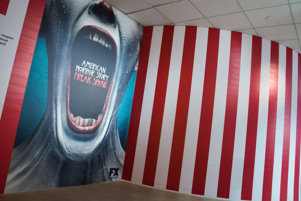 """A general view of The Paley Center For Media Celebrates """"American Horror Story: The Style Of Scare"""" exhibit."""
