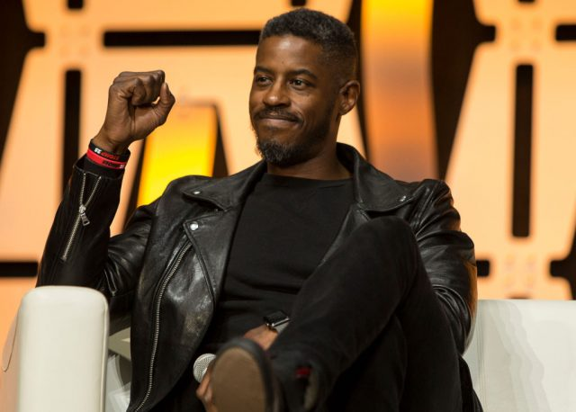 Ahmed Best during the Star Wars Celebration