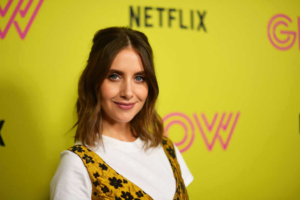 Alison Brie at a 'GLOW' event