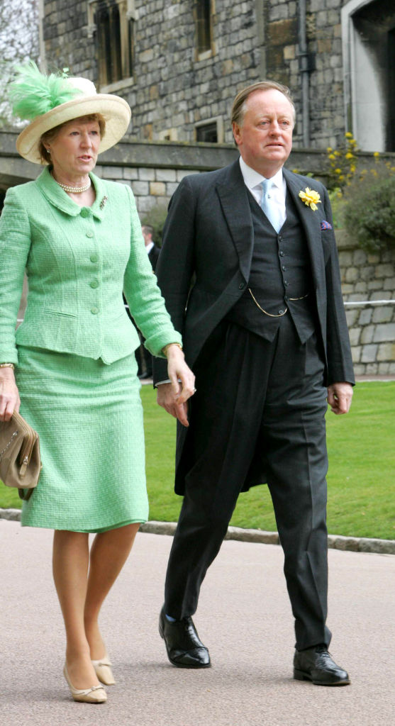 Andrew Parker Bowles and Rosemary Pitman