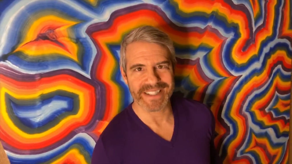 The reason Andy Cohen wasn't allowed to donate plasma