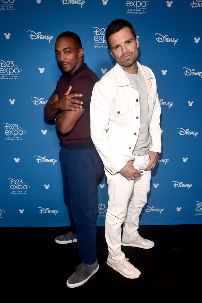Marvel stars Anthony Mackie and Sebastian Stan