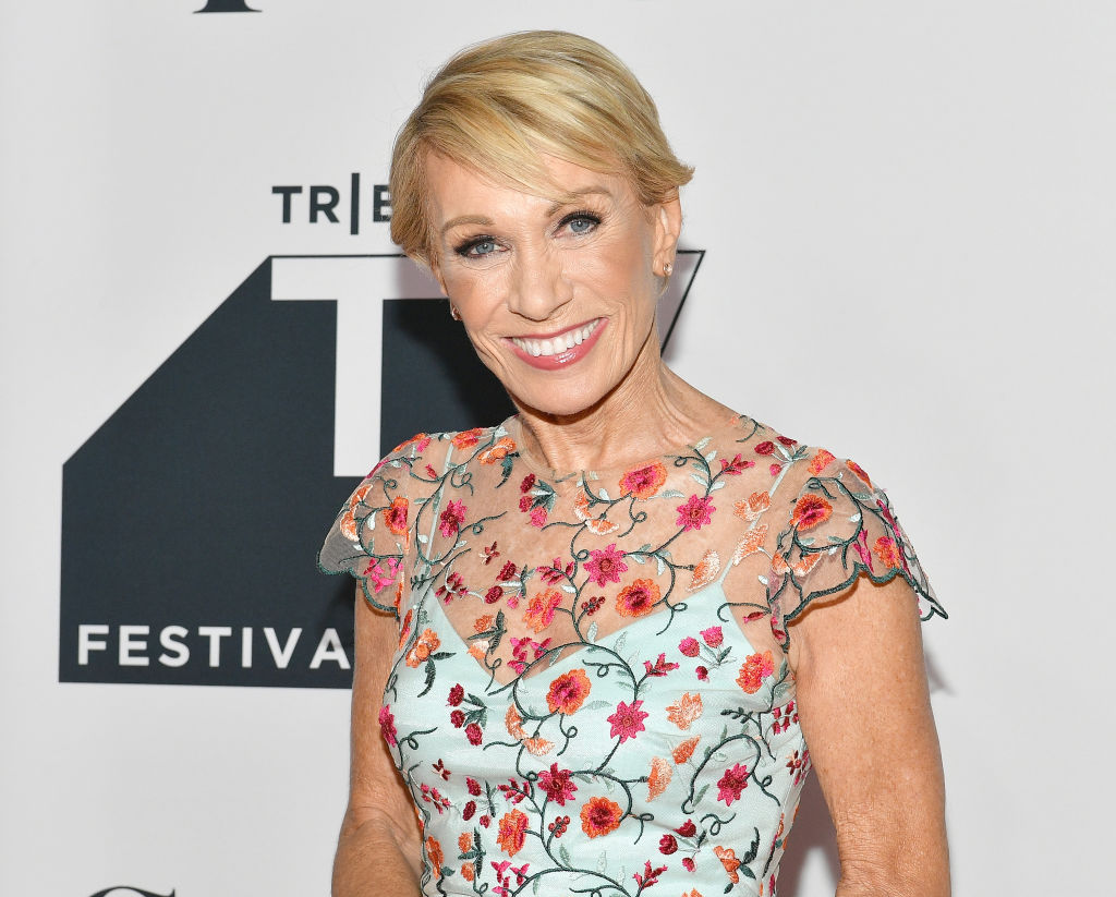 Barbara Corcoran  attends the Tribeca Talks Panel: 10 Years Of 'Shark Tank'