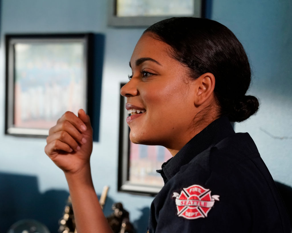 Barrett Doss as Vic Hughes on 'Station 19' - Season 3
