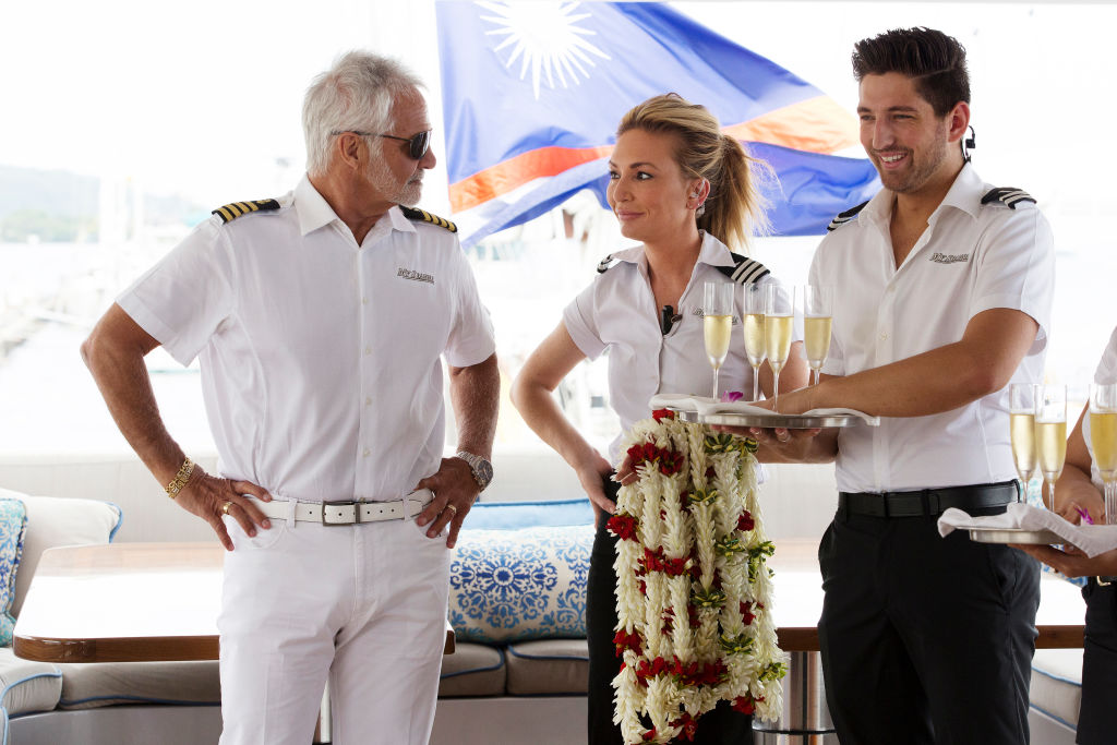 Captain Lee Rosbach, Kate Chastain, Josiah Carter