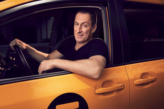 Ben Bailey in a promotional image for Season 14 of 'Cash Cab'