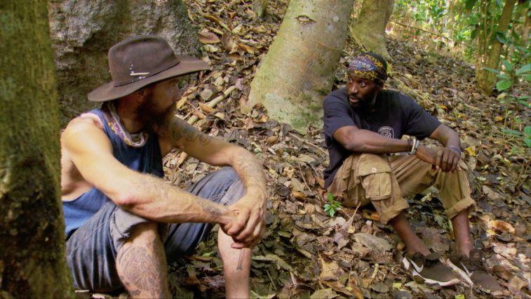 Ben Driebergen and Jeremy Collins talking on 'Survivor: Winners at War'