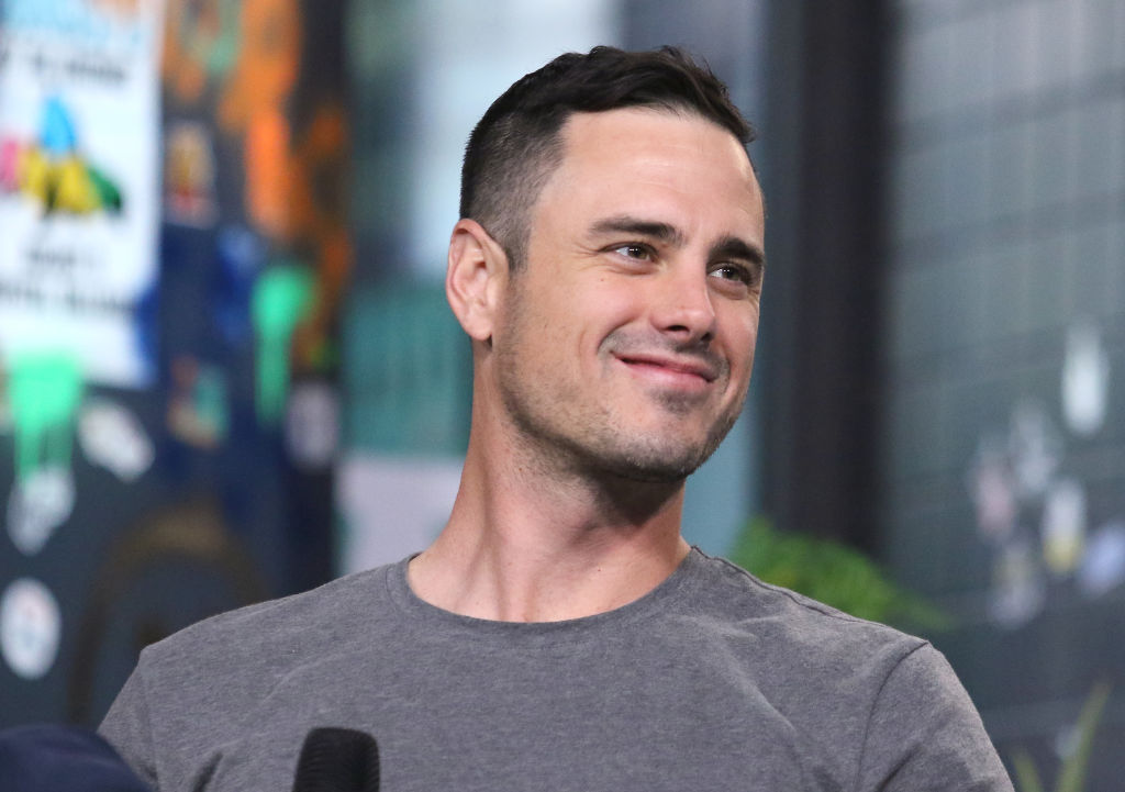 Ben Higgins attends the Build Series to discuss 'The Bachelor Live On Stage' Tour