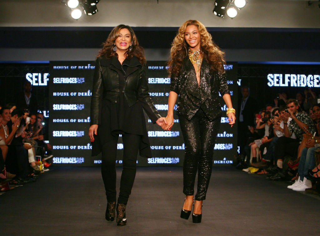 Beyoncé Knowles and Tina Knowles