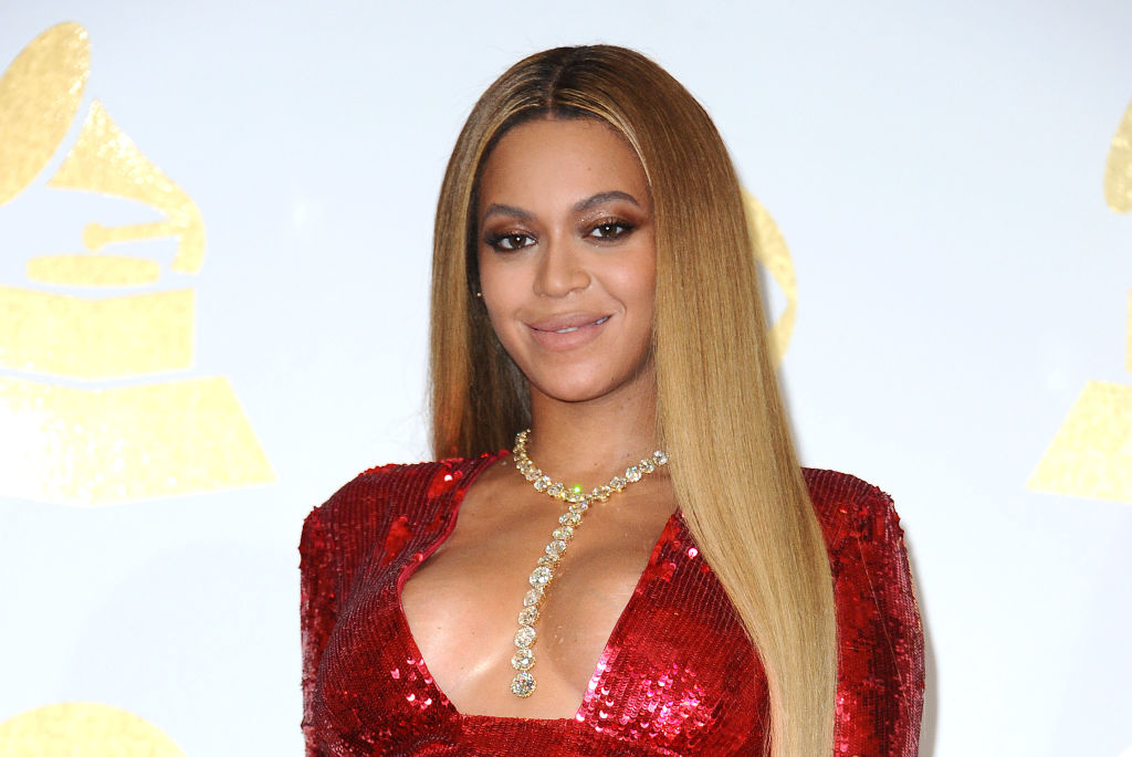 Beyoncé at an award show in February 2017 in Los Angeles, California