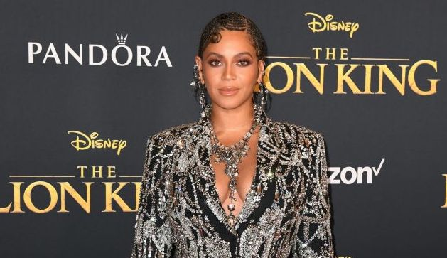 Beyoncé on the red carpet at an event in July 2019 | Robyn Beck / AFP via Getty Images