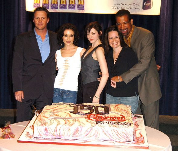Brian Krause, Alyssa Milano, Rose McGowan, Holly Marie Combs and Dorian Gregory