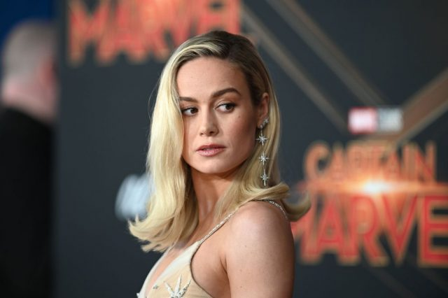 Brie Larson at the world premiere of 'Captain Marvel'