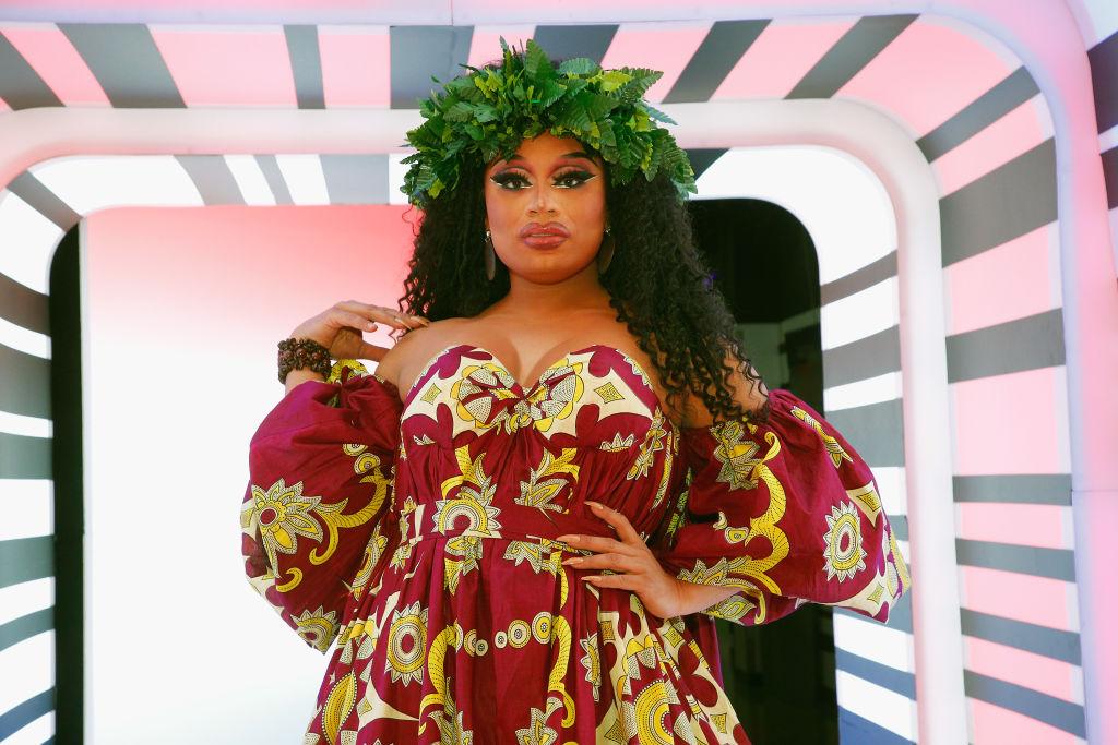 Brita attends 'RuPaul's Drag Race Season 12' meet the queens