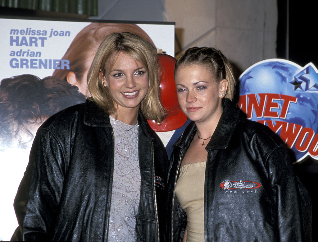 Britney Spears and Melissa Joan Hart