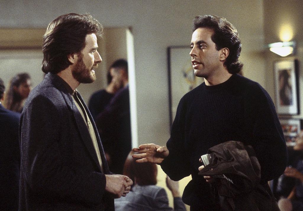 Bryan Cranston and Jerry Seinfeld