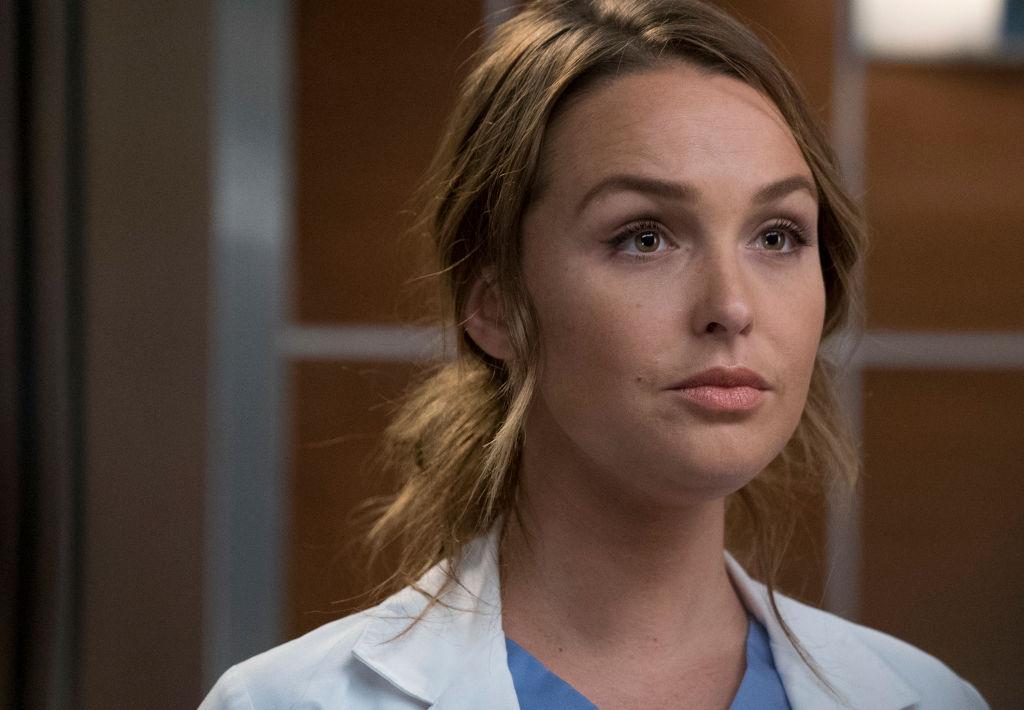Camilla Luddington as Jo on 'Grey's Anatomy'