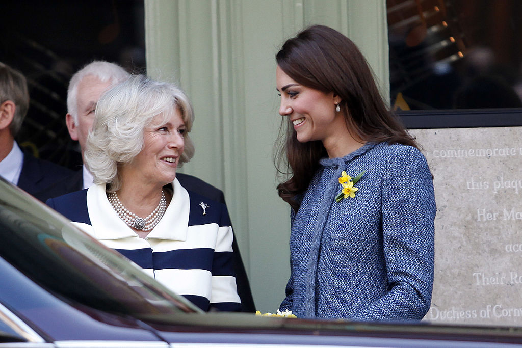 Kate Middleton and Camilla Parker Bowles, 2012