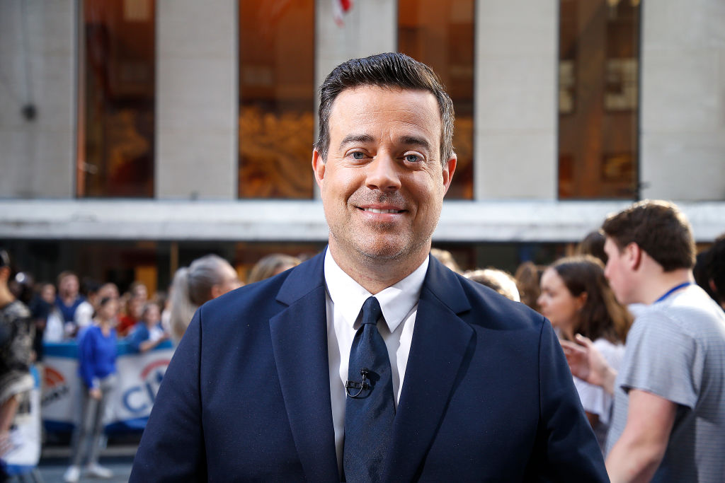 "Carson Daly attends as  Maggie Rogers performs on NBC's ""Today"""
