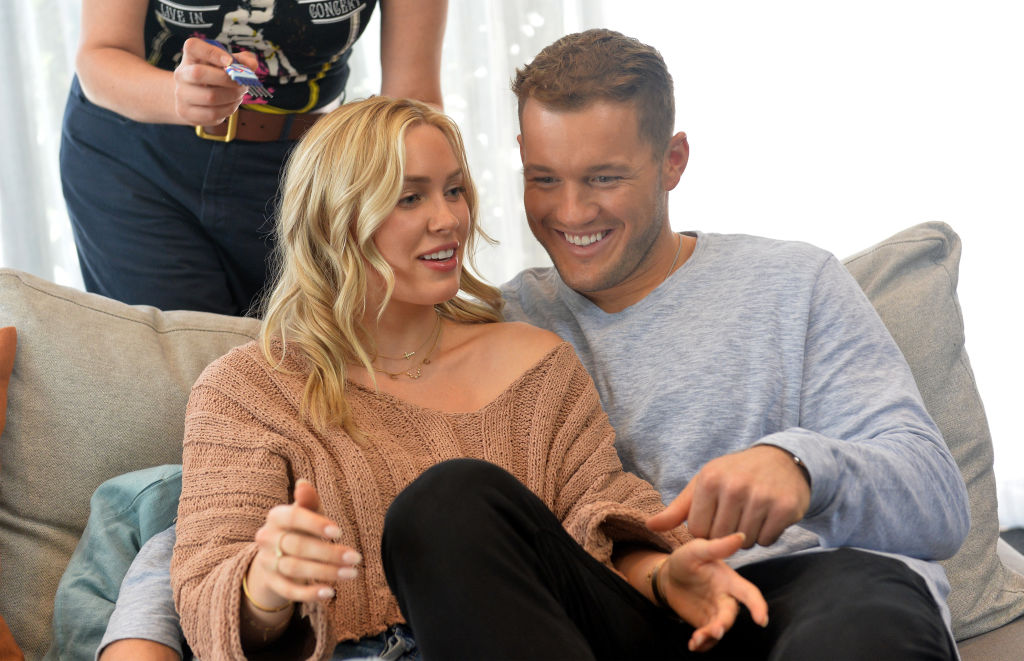 Cassie Randolph and Colton Underwood from 'The Bachelor' in Tubi Service Ad Campaign