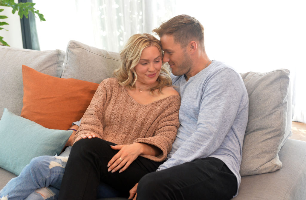Cassie Randolph and Colton Underwood   Jerod Harris/Getty Images for Tubi