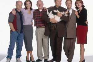 Cast of 'Frasier' Reunites via Skype on 'Stars in the House'