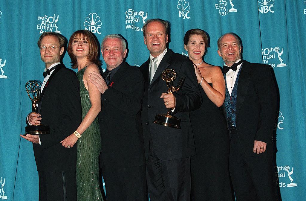 Cast from the series 'Frasier'