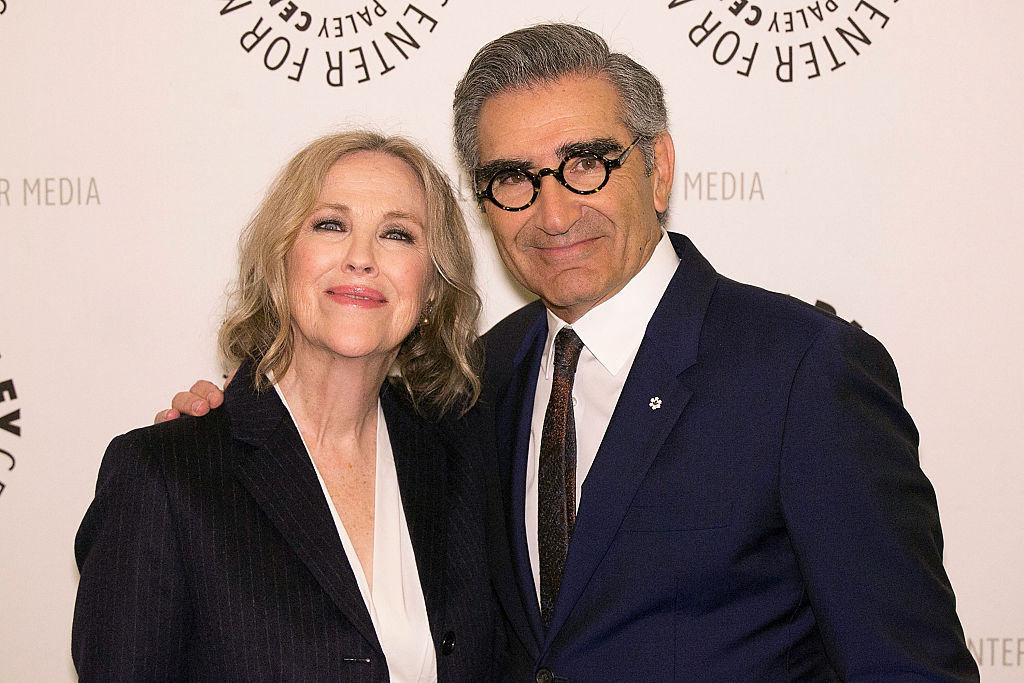 """Catherine O'Hara and Eugene Levy attend Paley Center for Media presents PaleyLive LA: An Evening with """"Schitt's Creek"""""""