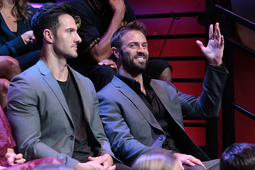 Chad Johnson and Daniel McGuire from 'The Bachelorette'