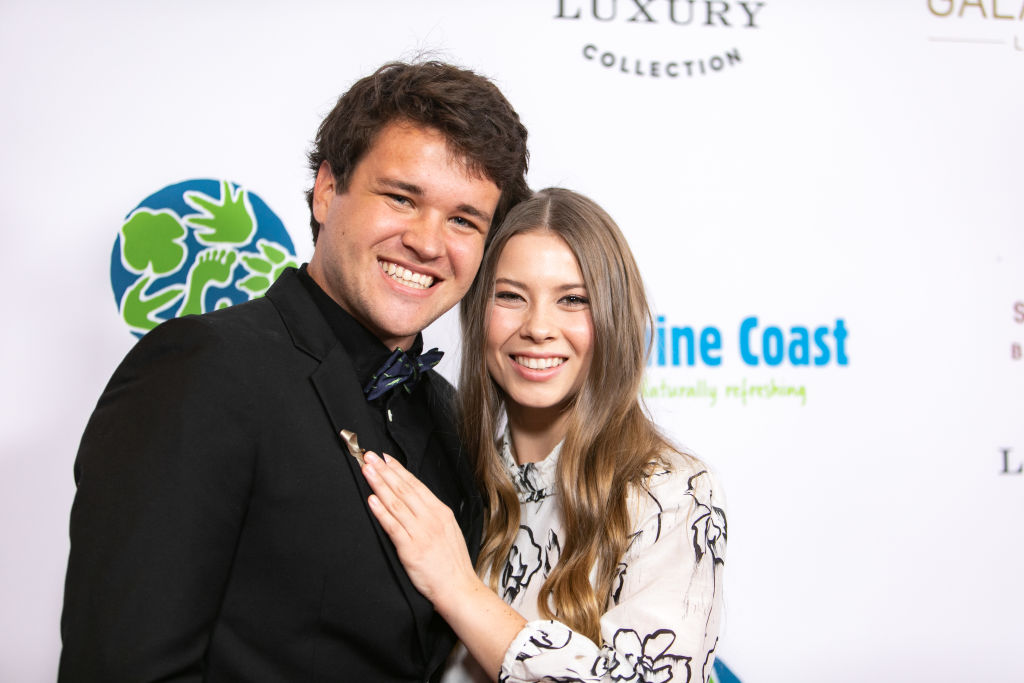 How Bindi Irwin honored her family with her wedding dress