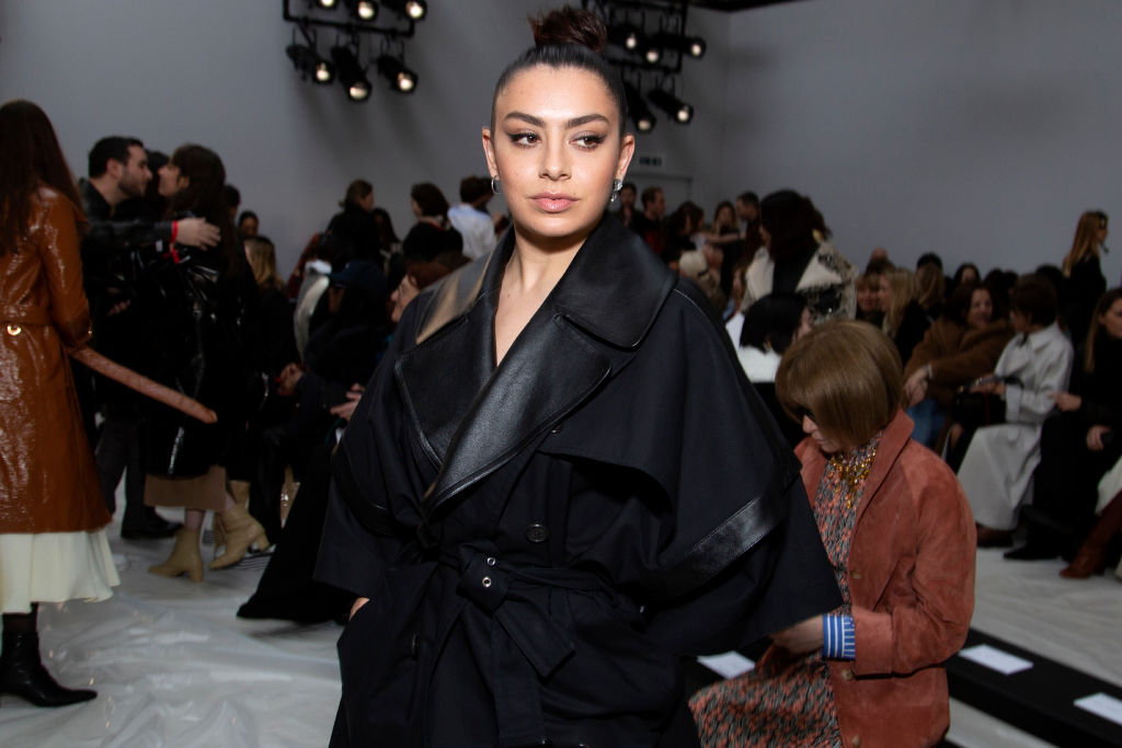 Charli XCX attends 'JW Anderson' fashion show