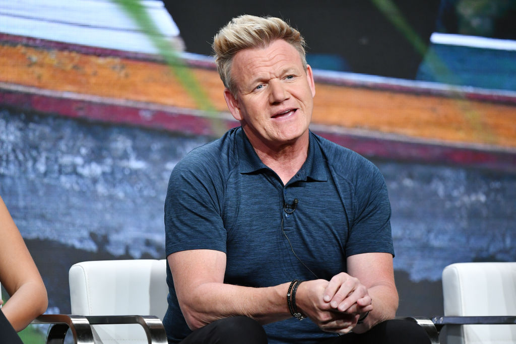 Gordon Ramsay attends the TCA panel for National Geographic Channels' Gordon Ramsay: Uncharted