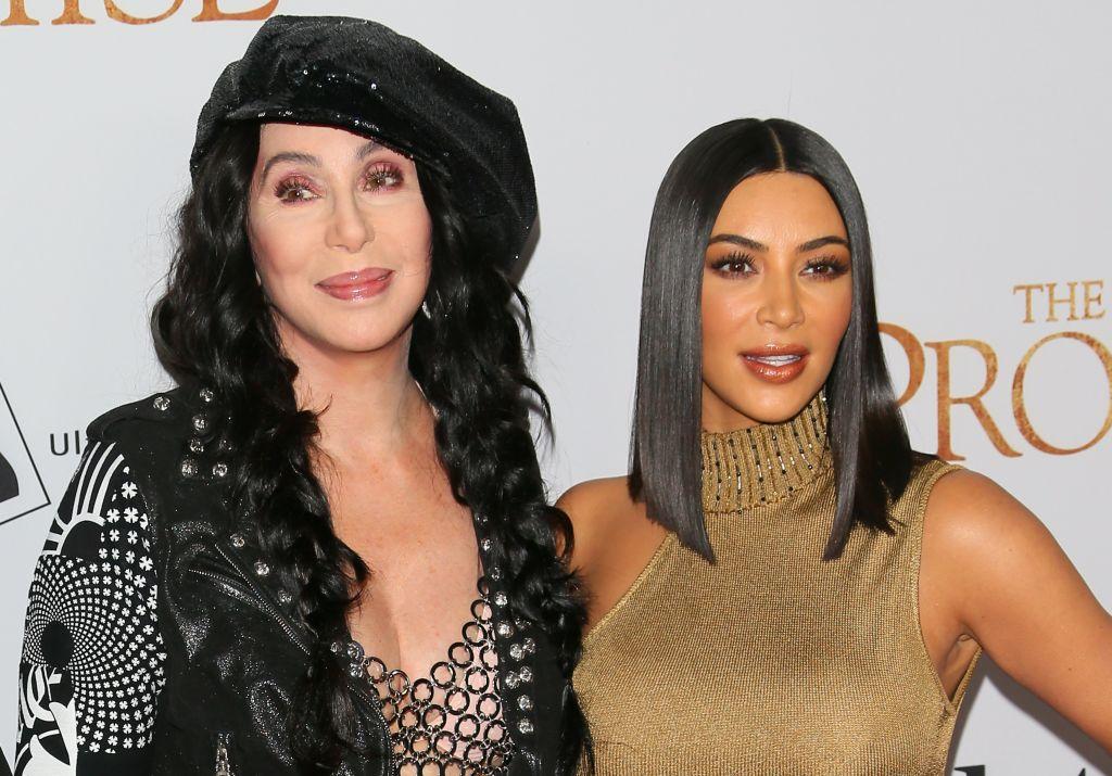 Cher and Kim Kardashian West