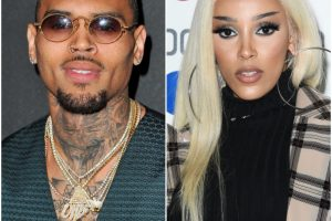 Chris Brown Flirted with Doja Cat and Fans Are Not Here for It